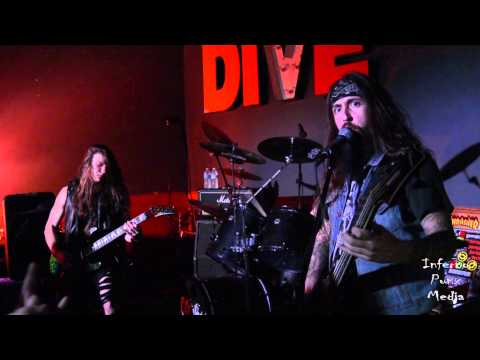 CANNABIS CORPSE Live at The Dive Bar in Las Vegas, NV 12/12/14 2 Cam Mix Part 1 of 4