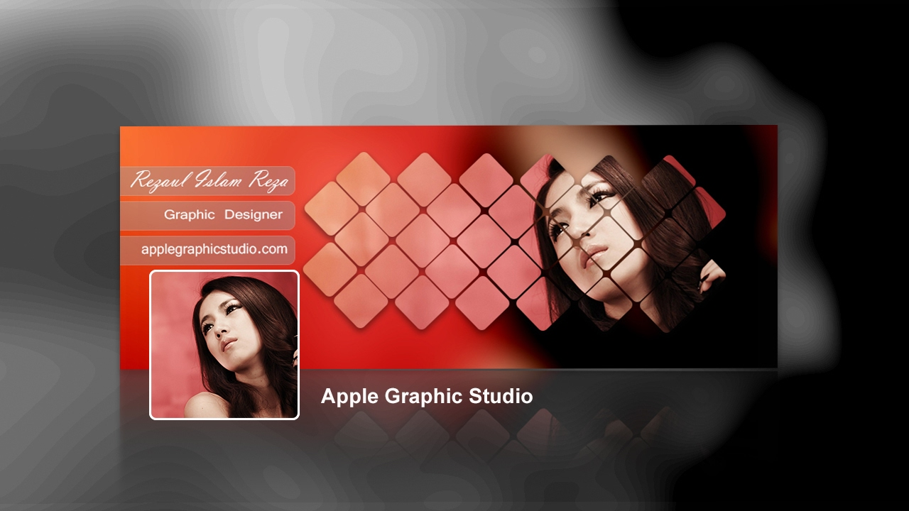 Stylish create name cover photos