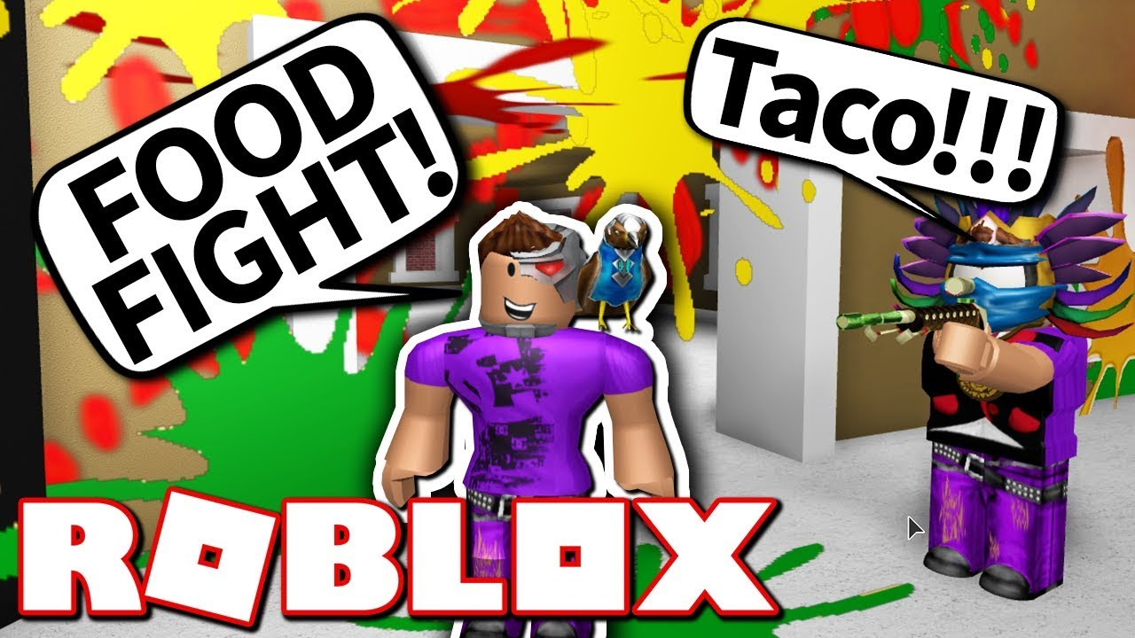 Roblox Food Fight Crazy Youtube