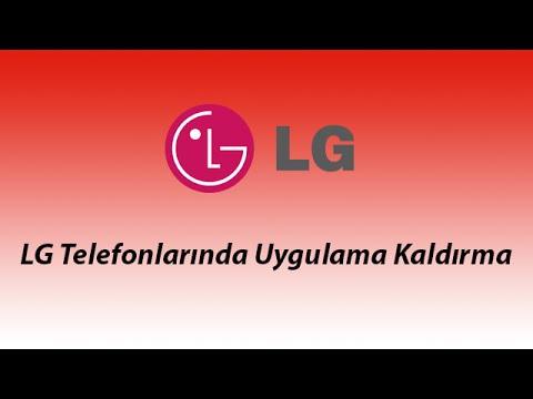 LG Telefonlarında Uygulama Kaldırma - Life's Computer