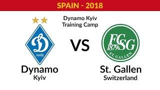 FM. Dynamo Kyiv - St. Gallen (Switzerland)