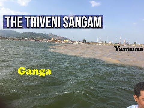 Triveni Sangam at Allahabad UttarPradesh | Full Vlog | Prayag Kumbh Mela | Ganga Yamuna Flow