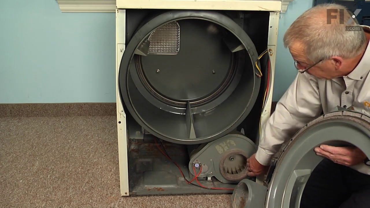 Amana Dryer Blower Wheel Diagram 32 Wiring Images Whirlpool 279827 Drive Motor Appliancepartsproscom Maxresdefault Repair How To Replace The Youtube