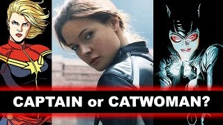 Rebecca Ferguson, Captain Marvel 2018 or Catwoman to Ben Affleck's Batman? - Beyond The Trailer