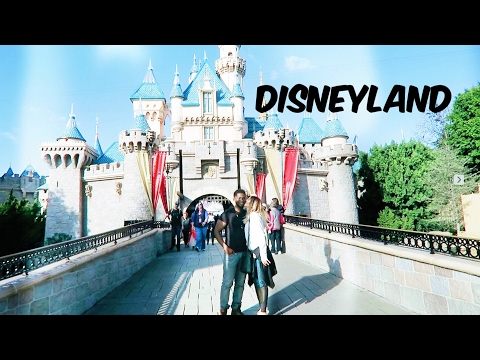 DISNEYLAND DAY!! Curtis Loves ROLLER COASTERS!  | Paige Danielle