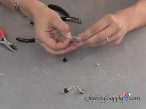 How to Make Easy Earrings - Jewelry Making