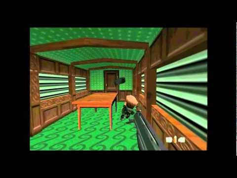 007 Goldeneye PC -DK Mode Gameplay -Silo