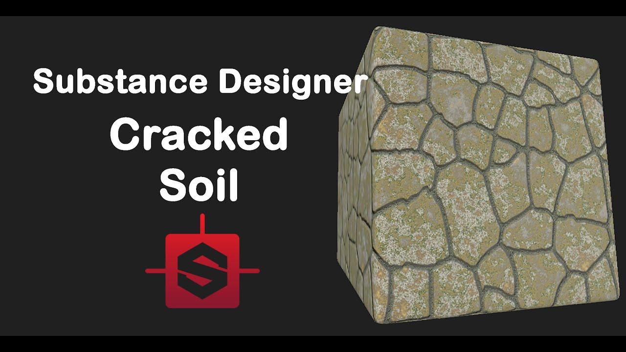 substance designer cracked ground