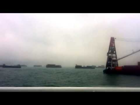 Hong Kong Port Traffic