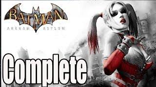 Batman Arkham Asylum Full Game Walkthrough / Complete Walkthrough - Into The Mad House