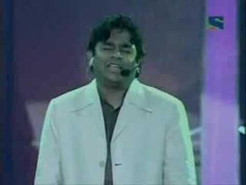 A R Rahman's Live performance @ 52 Filmfair Awards
