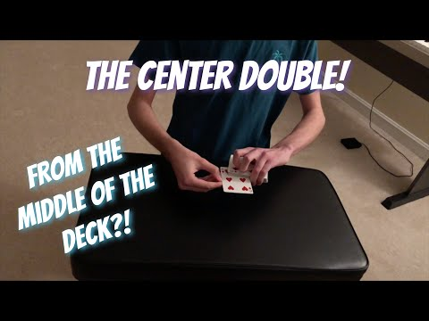 Center Double Lift | Sleight Of Hand Tutorial thumbnail