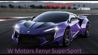 Apotta DJ-Video 73 (2018) Music with sports cars 14 / Muzica cu masini sport 14