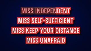 Miss Independent - Kelly Clarkson | Karaoke LYRICS