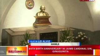 BT: 84th birth anniversary ni Jaime Cardinal Sin, ginugunita