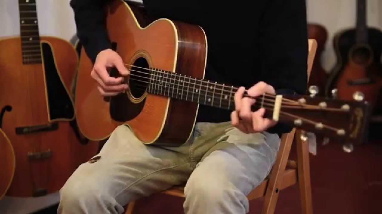 1952 martin 000 28 acoustic guitar at retrofret youtube. Black Bedroom Furniture Sets. Home Design Ideas