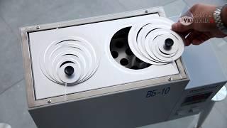Баня водяная лабораторная MICROmed видео обзор