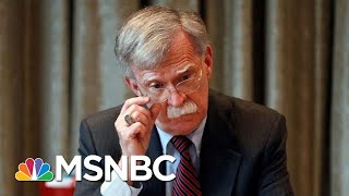 Bolton Slams Trump, Suggests Foreign Policy Guided By Personal Interest | Andrea Mitchell | MSNBC