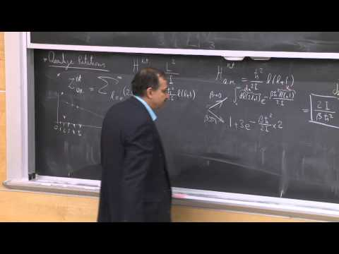 19. Quantum Statistical Mechanics Part 1