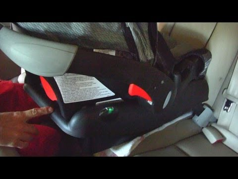 How to Install an Infant/Child Car Seat - Instructions for Evenflo Seat in Toyota Solara 2006