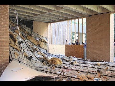 Упал потолок из гипсокартона