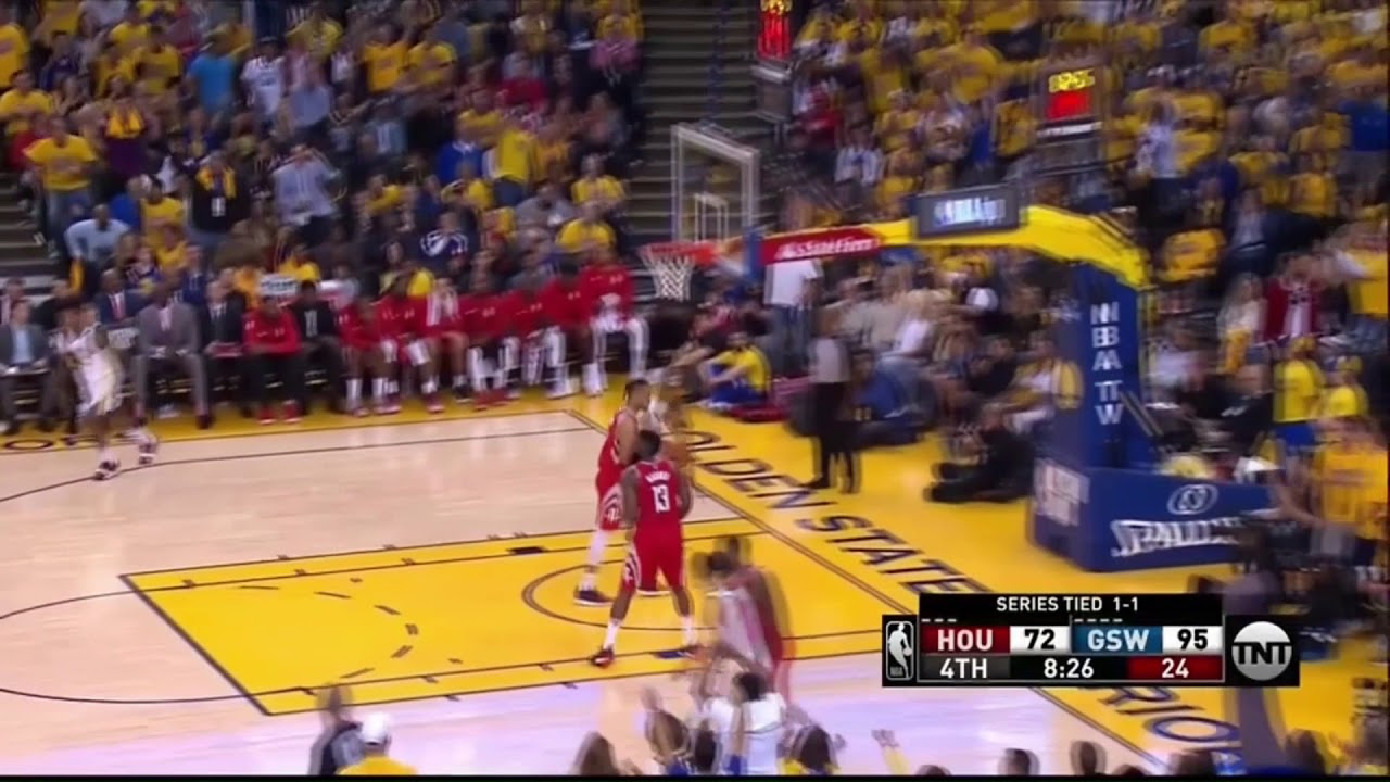 2b3ca9a261e3 Shaun Livingston Breaks James Harden s Ankles Houston Rockets at Golden  State Warriors - Game 3