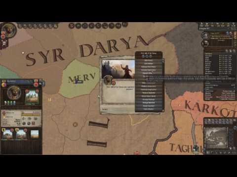Crusader Kings 2 Ironman Timelapse, From Duke of Zunbil to Emperor of the Sun (Zunist Run) 4/7