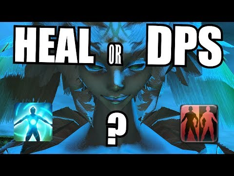 Heal or DPS?