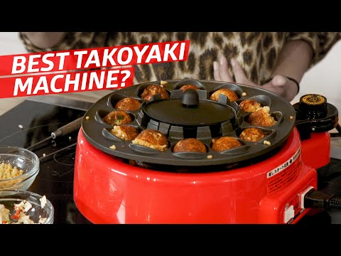 What Is the Best Way to Make Takoyaki (Octopus Balls) at Home? — The Kitchen Gadget Test Show - YouTube