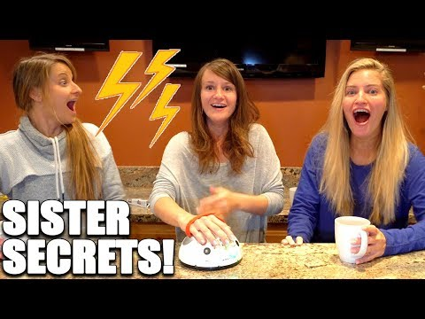 Electric Lie Detector Test With My Sisters! ⚡️