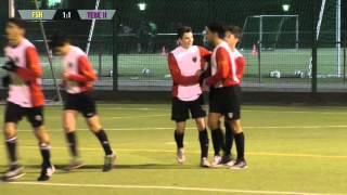 Füchse Berlin - Tennis Borussia II (U17 B-Junioren, Verbandsliga) - Spielszenen | SPREEKICK.TV