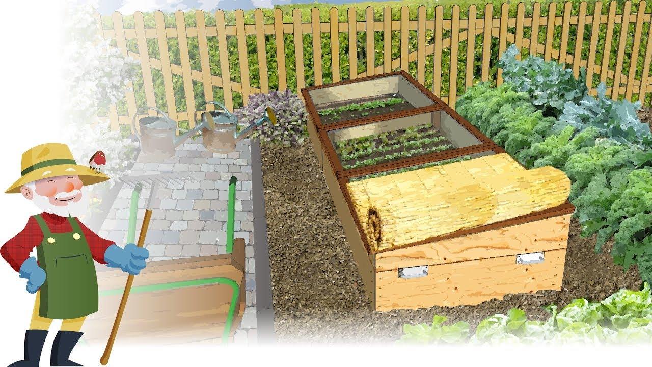 Comment construire un ch ssis de jardin type nantais - Comment fabriquer un chassis de jardin ...