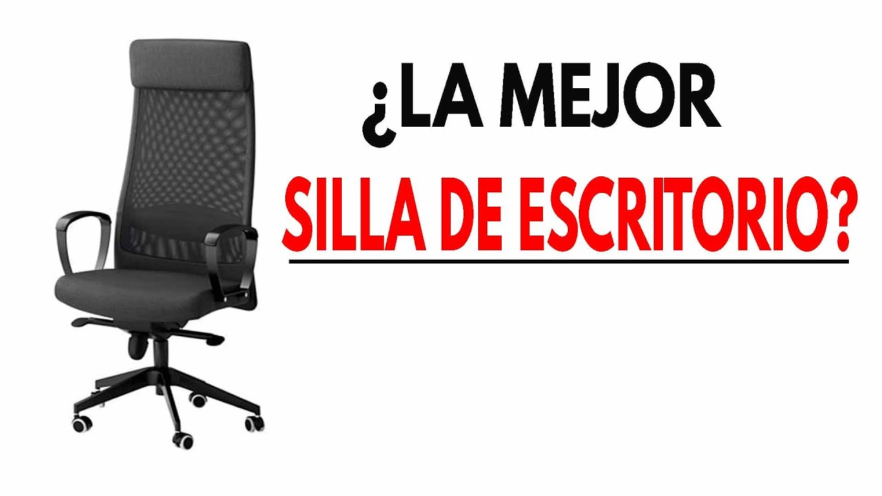 La Markus No Adecuada De Ikea Es Más Para Silla Ti WDH29EI