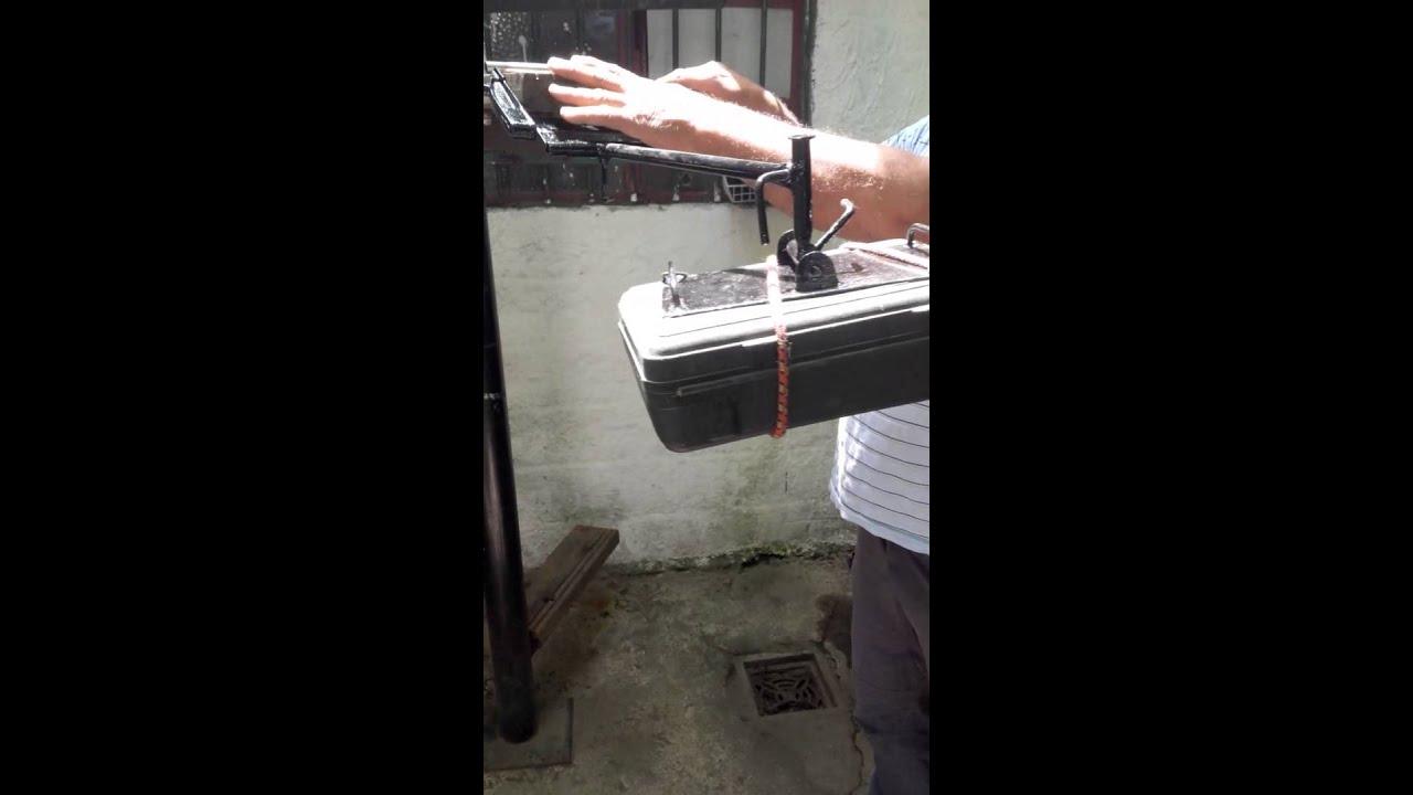 Soporte para proyector artesanal youtube - Soporte pared proyector ...