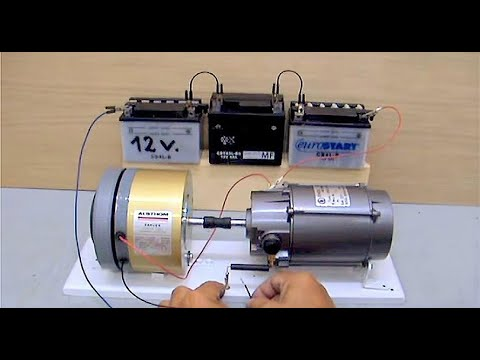 electric motor generator dc youtube