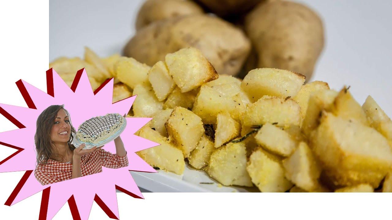 Patate al Forno Super Croccanti con Poco Olio - Le Ricette di Alice ...