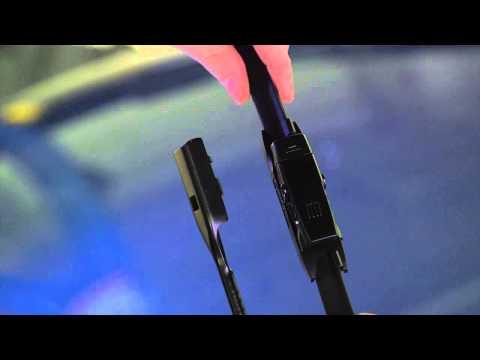 Bosch ICON: Narrow Top Lock Wiper Blade Installation