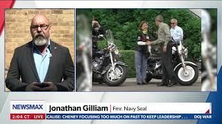 Jonathan T Gilliam discussing the SecDef denying Rolling Thunder a permit for Memorial Day.