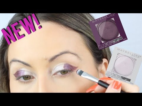 *NEW MAYBELLINE COLOR TATTOO 24HR CREAM SHADOW: NEW SHADES REVIEW!