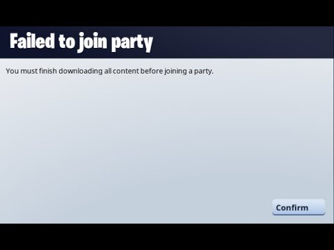 How To Fix Fortnite Issue - You Must Download All Content