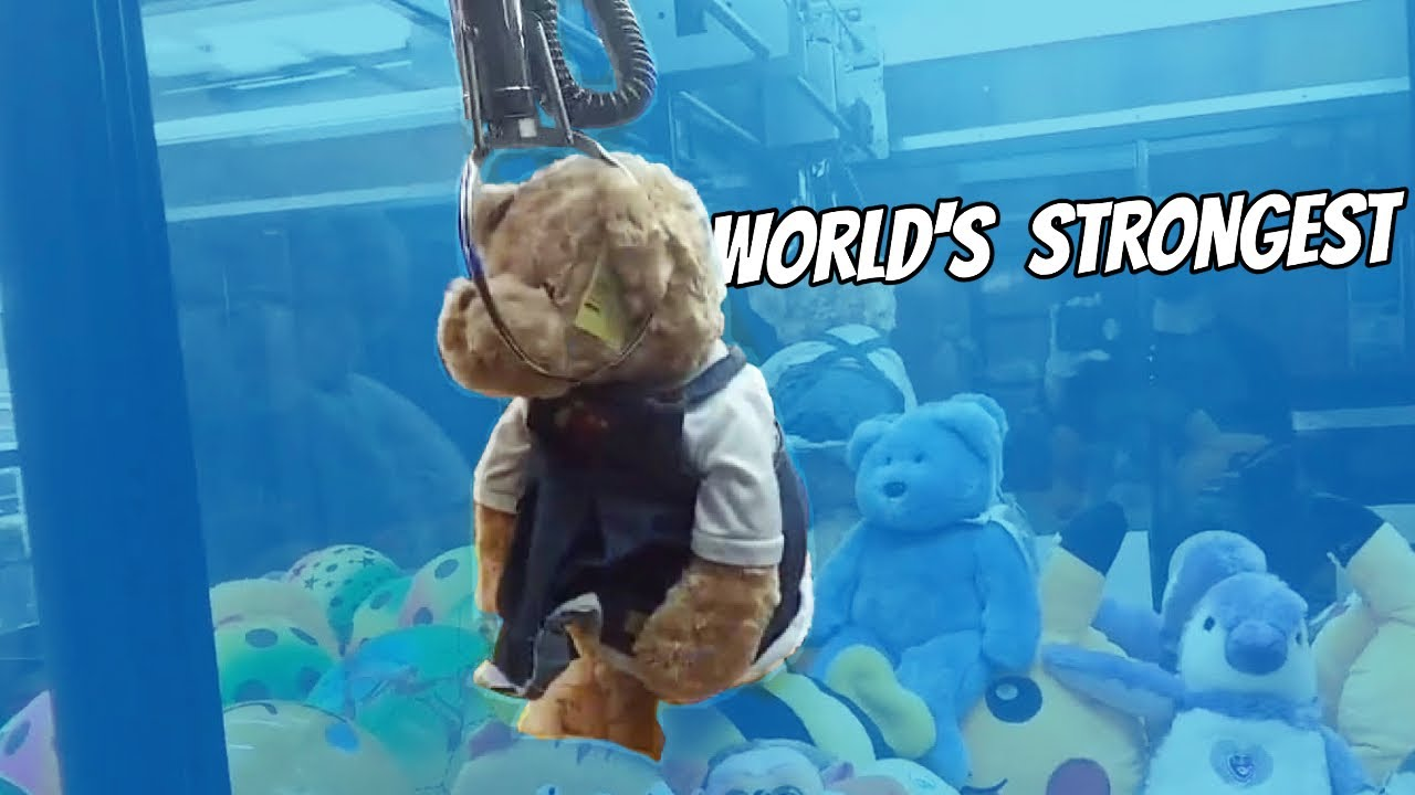 Playing the WORLD'S STRONGEST Claw Machine