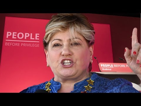 Watch again: Emily Thornberry addresses Labour Party Conference 2019