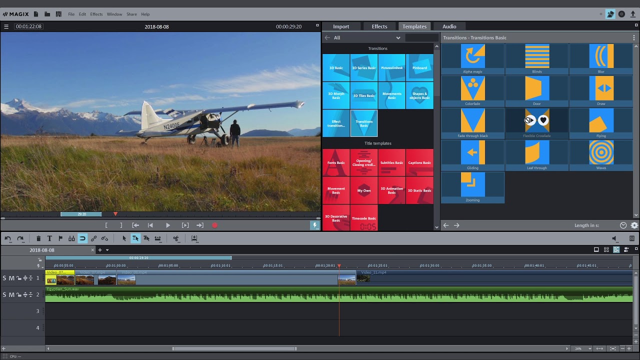 Magix Movie Edit Pro Introductory Video Tutorial 2019 Youtube