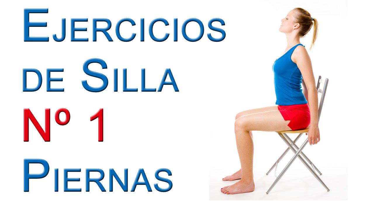 Ejercicios de silla n 1 muy faciles para todos youtube for Sillon alto para personas mayores