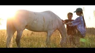 Intro - Horseback Archery Kids Sunset