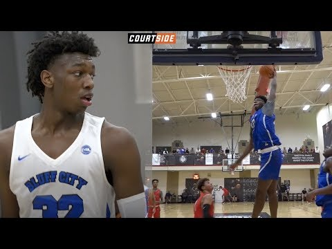 ESPN #1 in 2019 James Wiseman is Cut From a DIFFERENT Cloth! EYBL Mixtape!