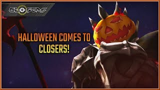 CLOSERS - NEW Update Halloween Comes To Closers Announment Trailer (2018) HD