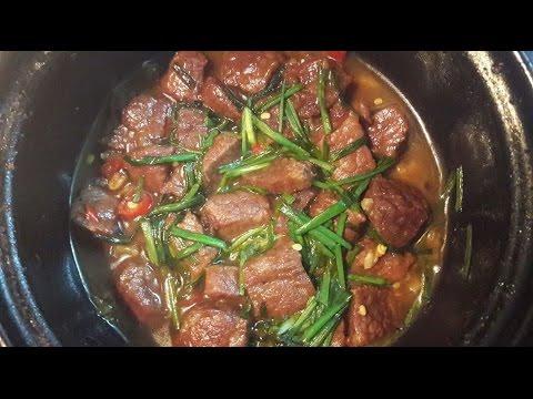 Cách làm món thịt bò kho tiêu ngon tuyệt!