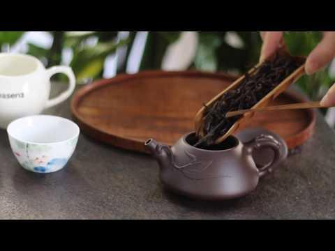Mi Lan Xiang Dan Cong Phoenix Oolong Tea Brewed in Small Yixing Teapot - Teasenz