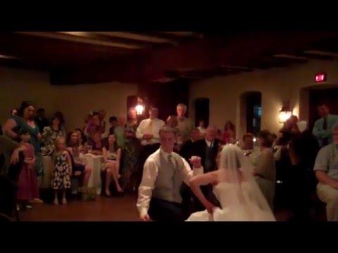 Scott and Johanna Wagner first wedding dance